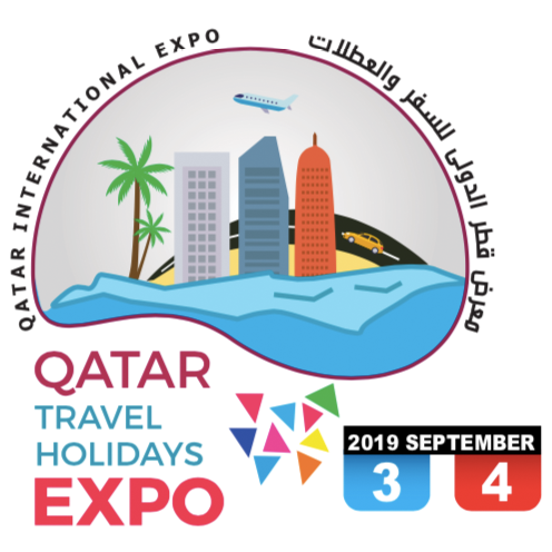 Logo Qatar International Tourism Exhibition